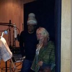Bernard Fowler (Rolling Stones) & A Beauvence in the studio Hollywood